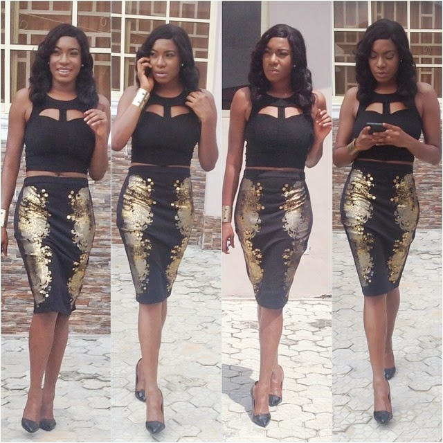 Chika Ike's lesbian activities with this beautiful lady exposed!
