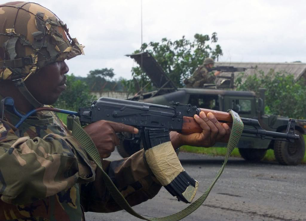 nigerian soldier 411vibes