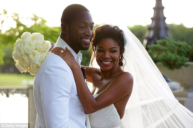 Wedding photos of Dwyane Wade and Gabrielle Union 411vibes