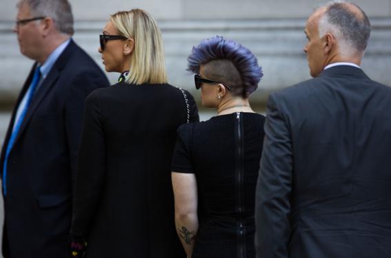 joan rivers funeral photos