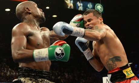 Mayweather vs Maidana - Floyd Mayweather remains the WBA and WBC welterweight boxing champion after a unanimous points victory over Marcos Maidan