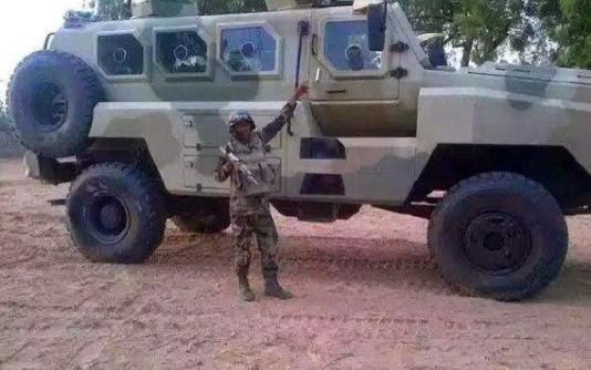 nigerian army CS/VP3 MRAP boko haram 411vibes