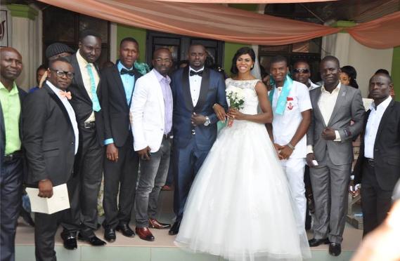 BLESSING OKAGBARE WEDDING 411VIBES