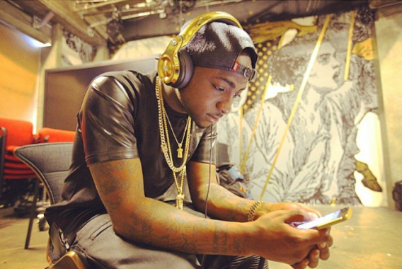 Davido-Listens-To-His-
