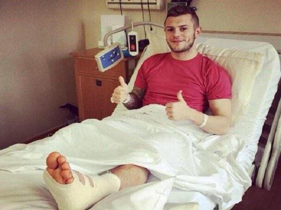 Wilshere-injury
