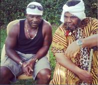 Emma-Ehumadu-and-Pete-Edochie-on-set-Pulse