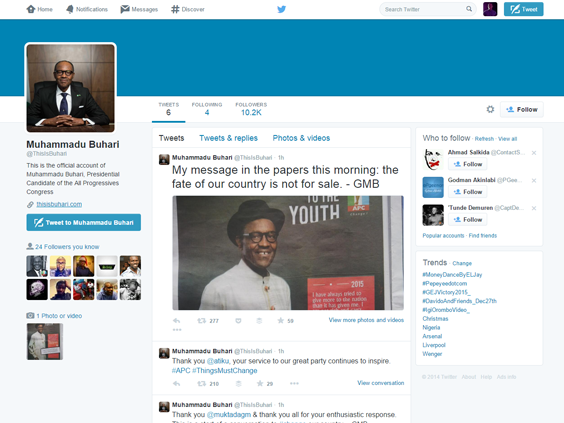Muhammadu-Buhari-ThisIsBuhari-Twitter