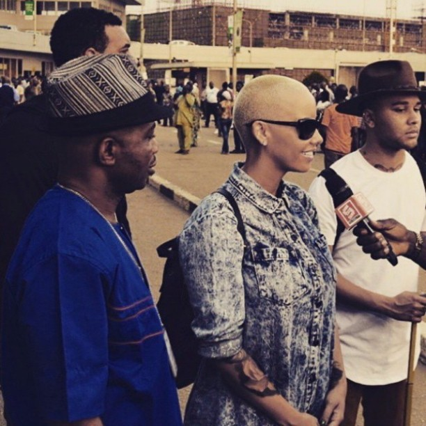 amber rose in lagos theinfong 3