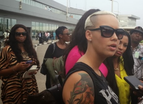 amber rose in lagos theinfong 4