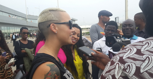 amber rose in lagos theinfong 5