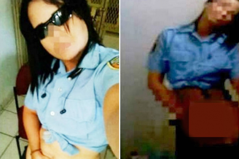 female cop performing sex act theinfong.com