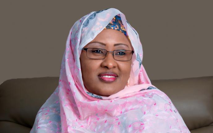 Aisha Buhari opens up on Buhari's health status theinfong.com