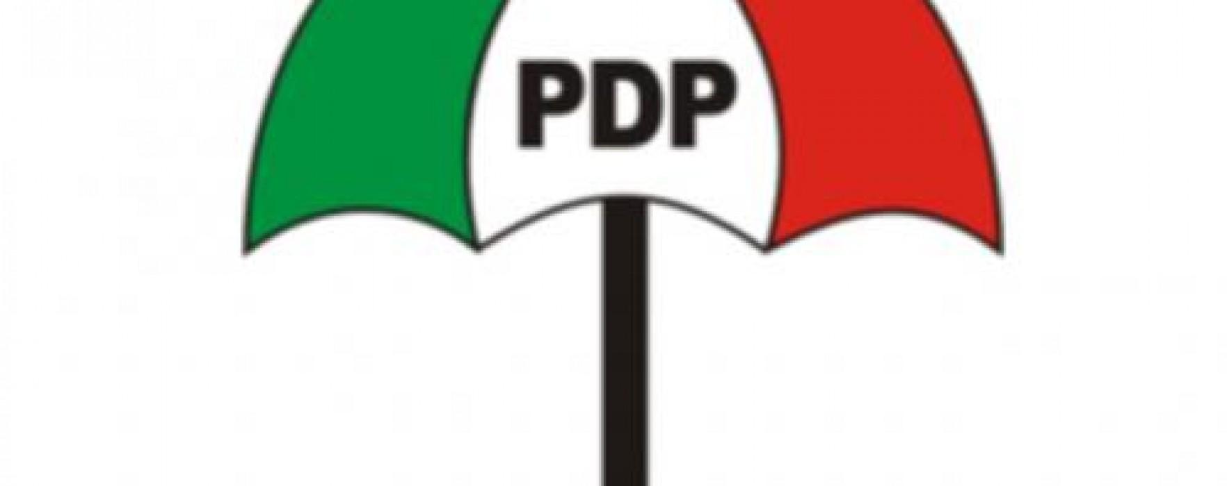 PDP officials shot dead - PDP-Flag-TheinfoNG