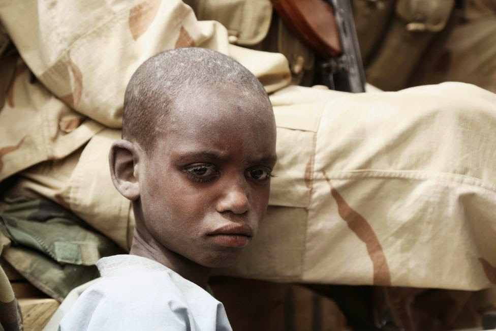 Photos of recently captured Boko Haram members – Some are just kids (Photos)