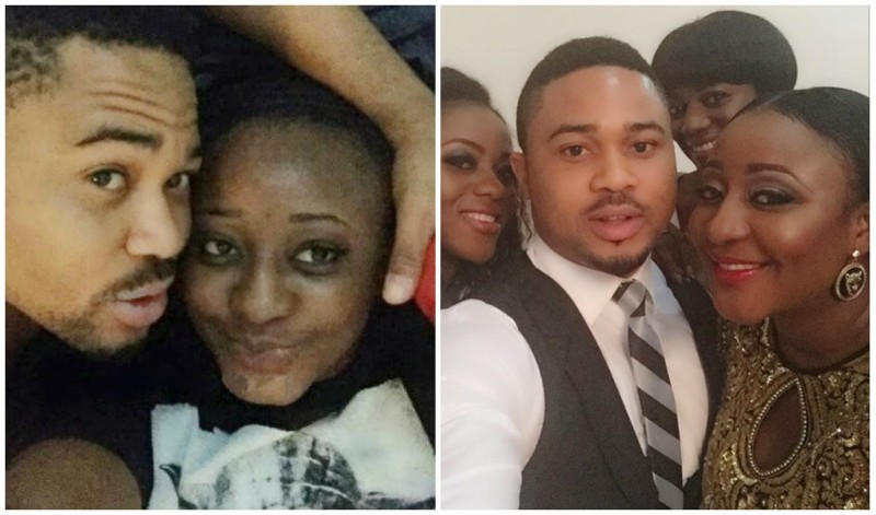 ini edo and mike godson theinfong.com _Mike Godson finally opens up on relationship with Ini Edo - See what he said!