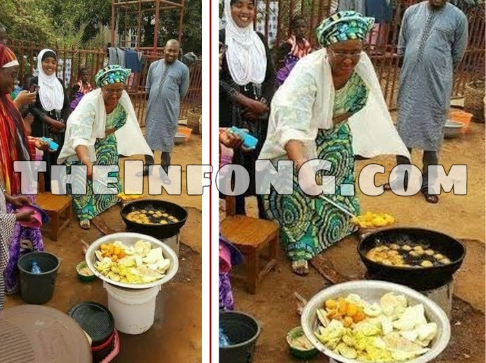 Aisha_Buhari_frying_akara_theinfong.com