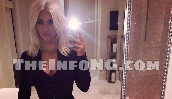 Kim K goes out with transparent clothing - TheInfoNG
