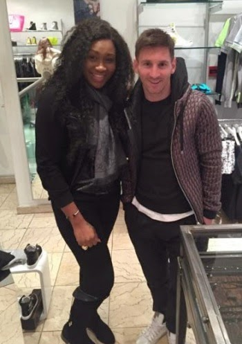 Lionell Messi and Ebube Nwagbo-TheinfoNG