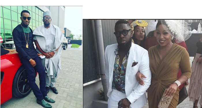 A-List Nigerian celebrities that turned up for Noble Igwe's wedding theinfong.com 700x375