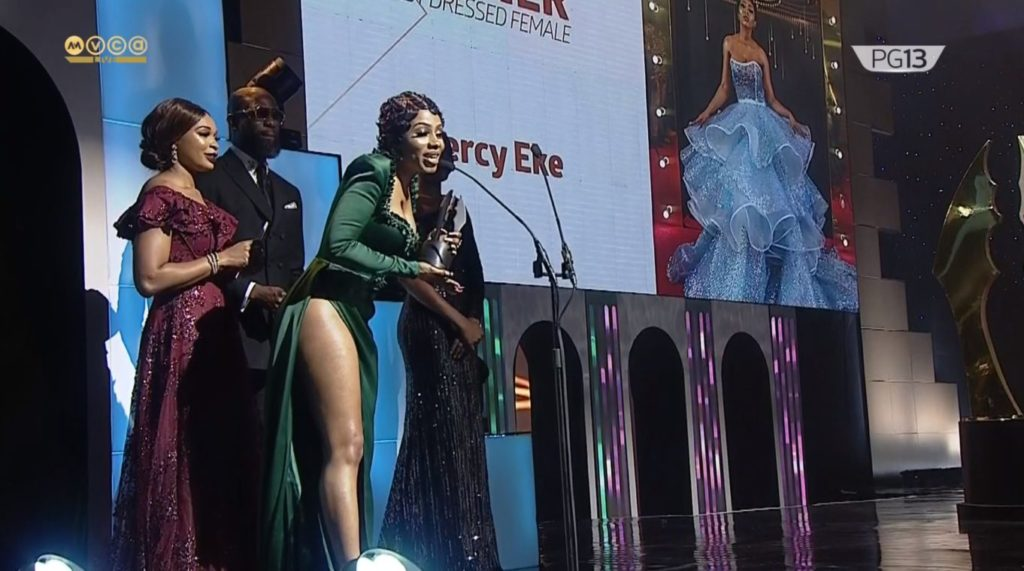 """She always disappoints us"" - Titans mad at Tacha, after Mercy won at Amvca"