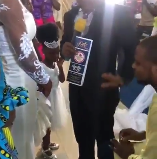 Drama as Pastor stops man from proposing to his daughter (Video)