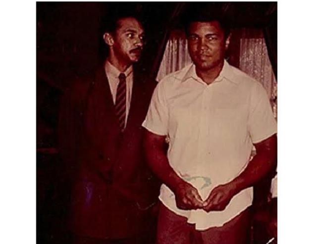 Photo of Ben Murray-Bruce & Late Muhammad Ali