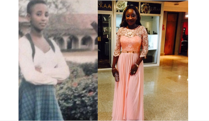 Photos of how top female celebrities looked like before they became rich and famous - ini edo theinfong.com 700x407