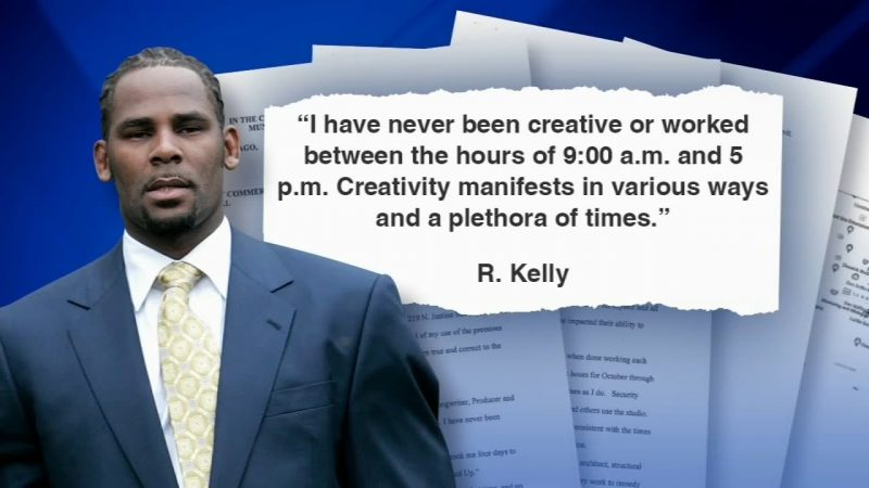 R.kelly denied entry to his Chicago studio