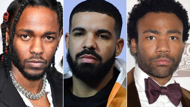 Kendrick Lamar, Drake, Childish Gambino