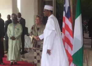 buhari-welcomes-liberian-president