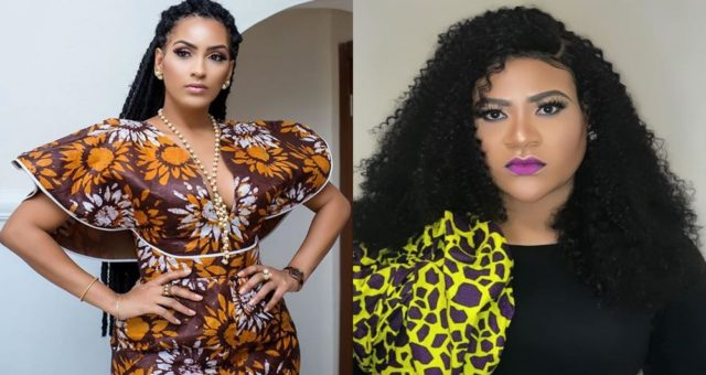 Juliet Ibrahim and nkechi blessing drag each other on Instagram
