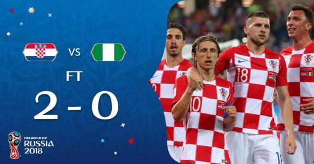 Why Nigeria lost 2-0 to Croatia Mikel Obi