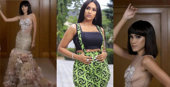 Sonia Ibrahim Slays In Braless See-Through Outfit , Juliet Ibrahim Reacts