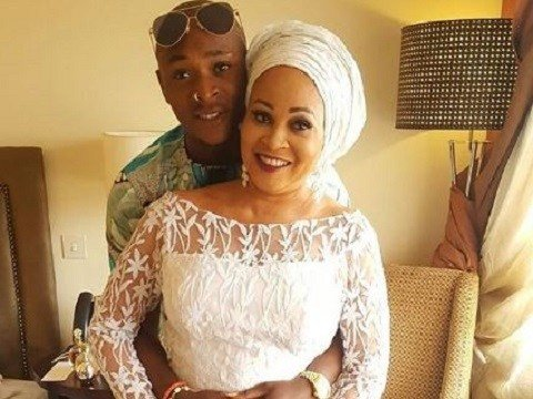 Bukky wright and son