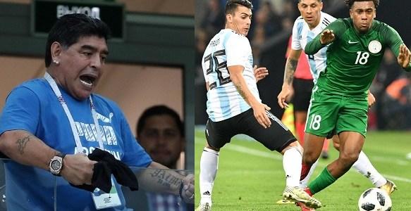 Nigeria vs Argentina: Maradona demands access to speak with Messi, Argentina Players