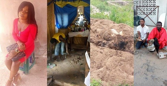 Pastor kills prostitute for rituals, buries her parts in his altar (photos)