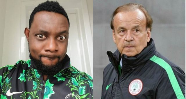 """Mumu Coach"" – Comedian AY Blasts Super Eagles' Gernot Rohr"