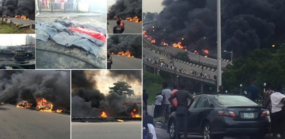 Man Narrates How He Escaped Lagos Tanker Fire