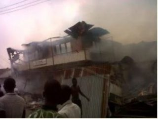 Two Kids Burnt To Death In Mysterious Fire Outbreak In Ondo State (Photo)