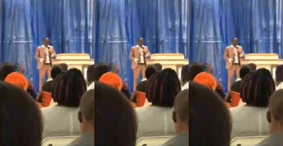 Pastor ask congregation to pay before they can touch him