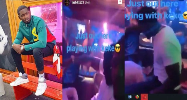Tiwa Savage's estranged husband, apologises for sharing strip club video