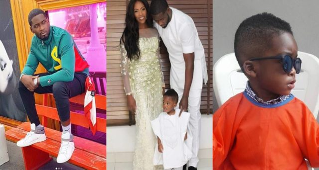 """""""You're part of my strength"""" – Tee Billz pens adorable message to son, JamJam as he turns 3"""