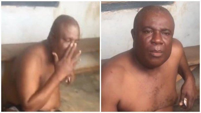 Watch viral video of pastor who was reportedly caught in a hotel room with church member