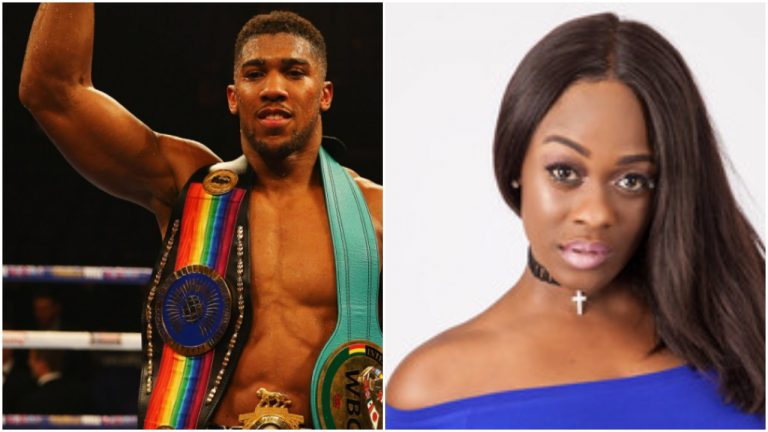 Uriel Oputa reacts to Anthony Joshua's claims of finding it hard to get a girlfriend
