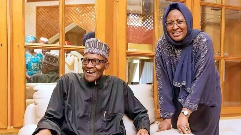 Buhari and Aisha theinfong