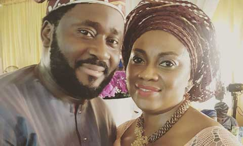 Desmond Elliot and his wife
