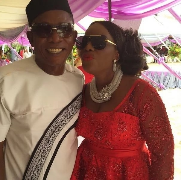 Nkem Owoh and his wife