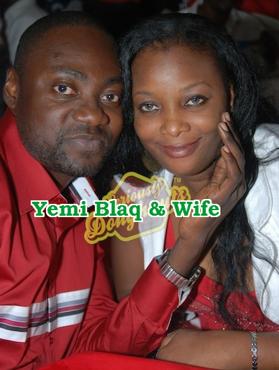 Yemi Blaq and wife