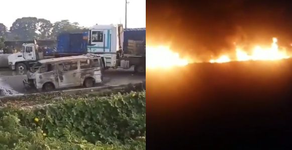 Fuel tanker explodes at Ojo barracks