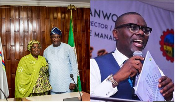 Idiat Adebule dumps Ambode for Sanwo-Olu
